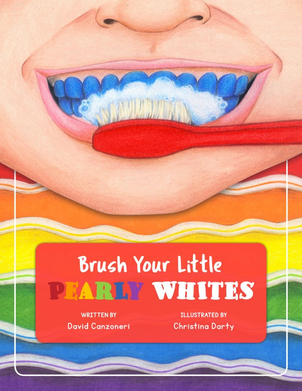 Brush Your Little Pearly Whites COVER OUTSIDE colors
