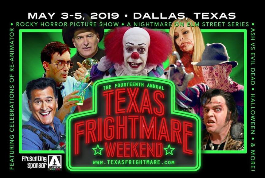 C. Derick Miller Texas Frightmare Weekend Schedule!!!