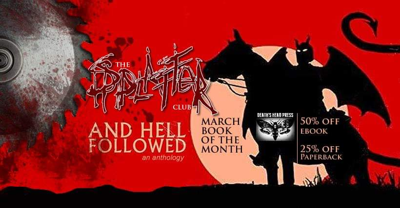 Splatter Club Book Of The Month!!!